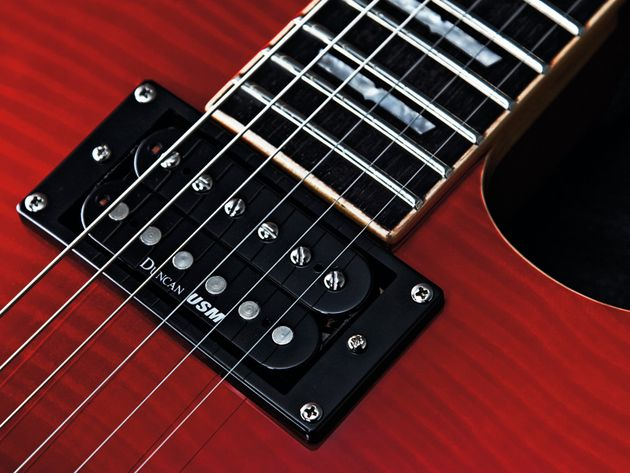 These Seymour Duncan USMs are just the ticket for full-on rock riffs.