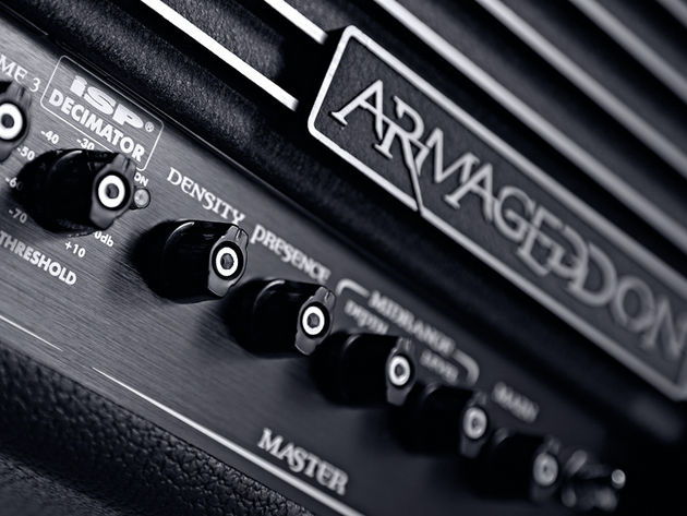 The Armageddon's ISP Decimator provides high quality noise reduction.