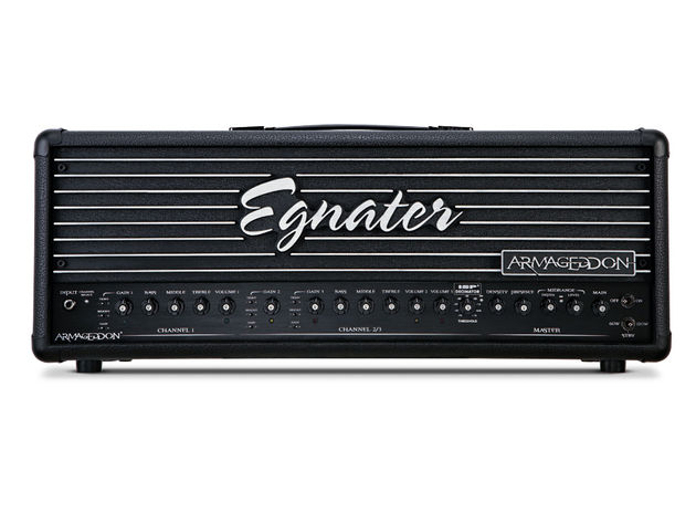The Egnater Armageddon's third channel and extra features are focused on the specific requirements of heavy metal.