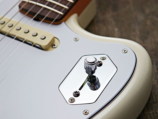 The Johnny Marr model has a new four-position selector switch design.