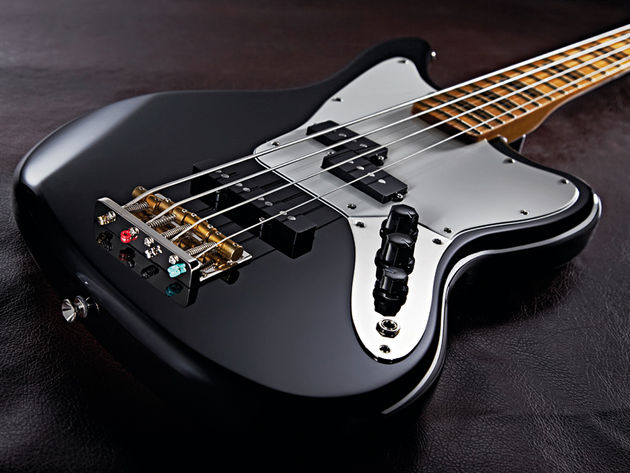 The Modern Player Jaguar Bass's combination of Precision and Jazz pickups offers versatility - and punch