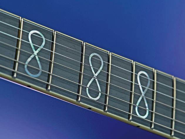Pearl Infinity inlays are optional.