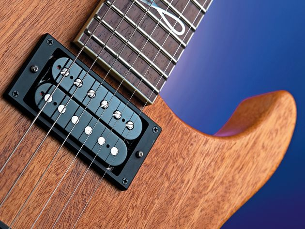 GJ2's humbuckers are the company's own vintage-voiced Habanero models.