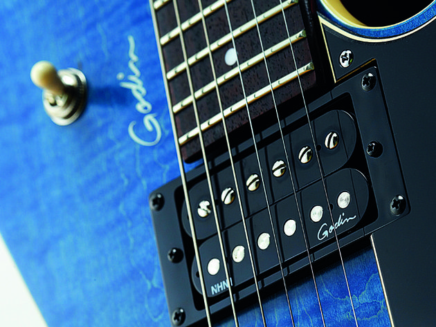 The Core HB features two Godin Nitro humbuckers…