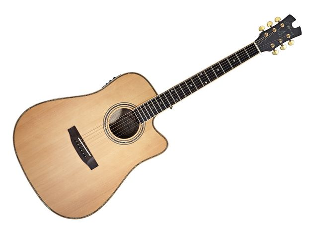 The tone of the Eunoia DEC's paulownia is more mahogany than rosewood, but differs from both.