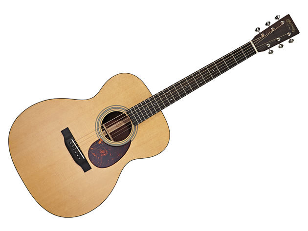 Martin's new Performance neck now graces the OM-21.
