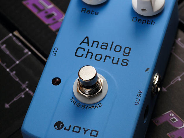 In spite of its bargain basement price, the Joyo Analog Chorus is solidly constructed and packs authentic analog chorus sounds.
