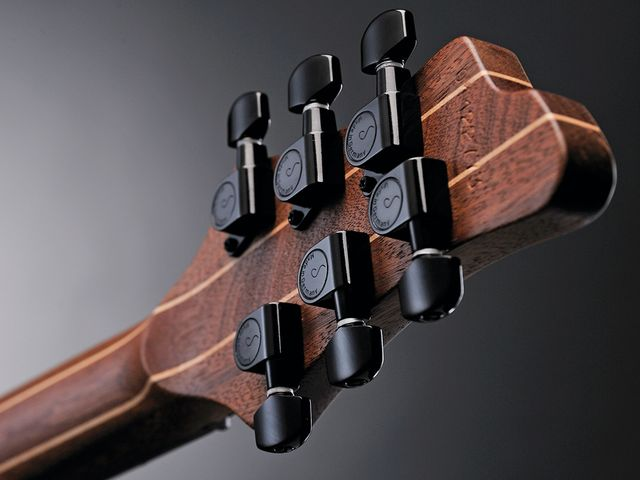 The GTM6 has Schaller M6 Mini tuners.