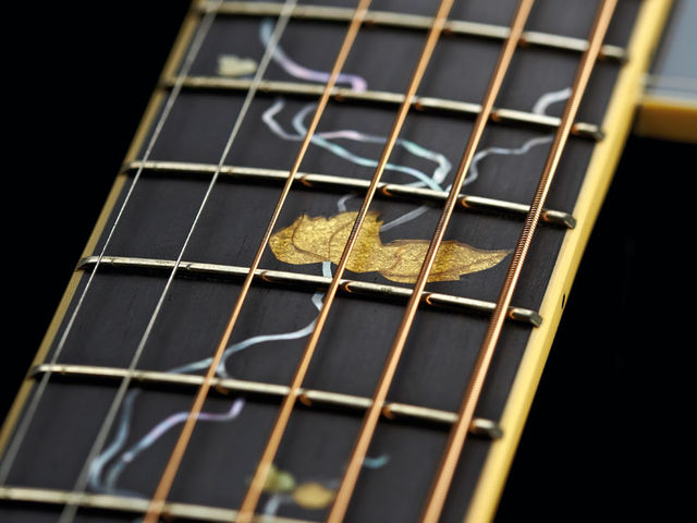 Intricate inlays emphasise the limited edition credentials of the 'Michi'
