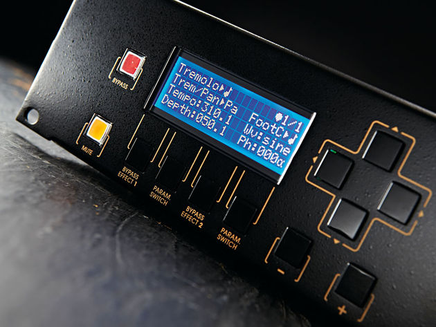 A huge array of parameters makes the PedalPro more flexible than stompboxes
