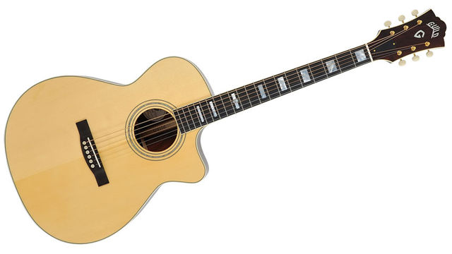 The F-30 has long been one of Guild's most popular small-bodied guitars