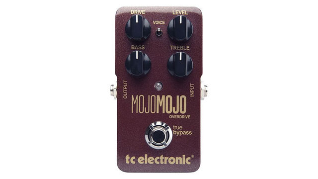 The MojoMojo delivers valve-like overdrive to boost your amp further