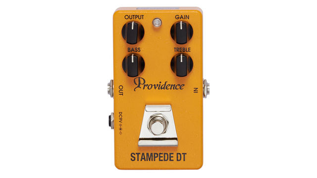 The Stampede DT immediately has an aggressive, biting edge to its distortion