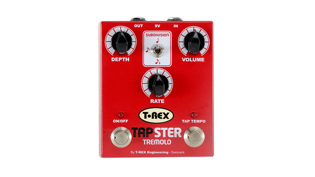 The Tapster Tremolo combines a vintage trem sound with tap tempo capabilities