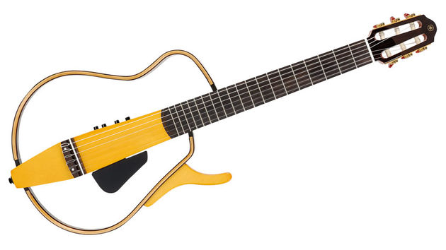 The SLG130NW, with its centre block and outer frame, rips up the classical guitar rulebook entirely