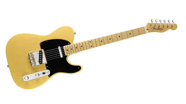 The 1952 Teles were originally blonde, but they turned butterscotch or yellow over a period of time