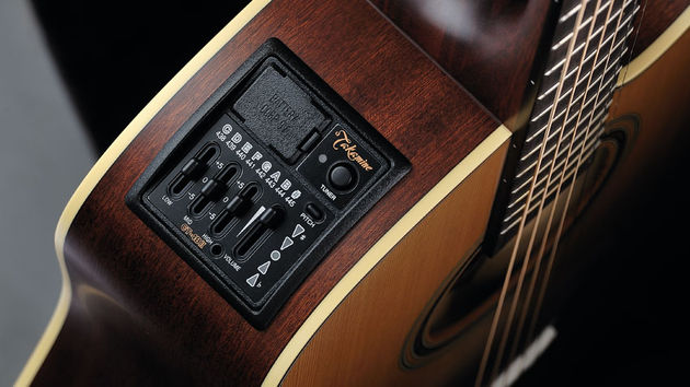 When the guitar is plugged-in, the CT4B II preamp impresses