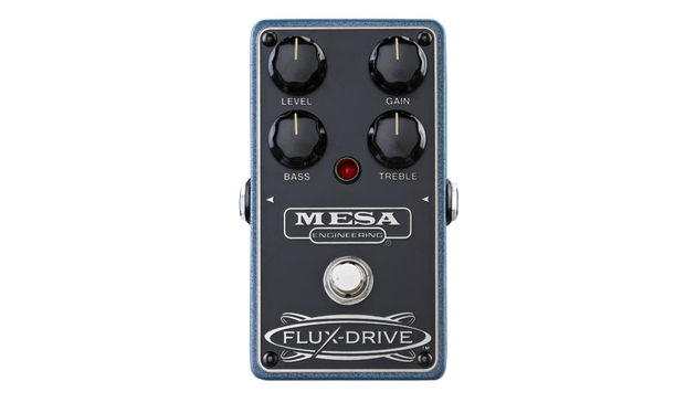 The Flux-Drive offers mid-level overdrive and works well with humbuckers