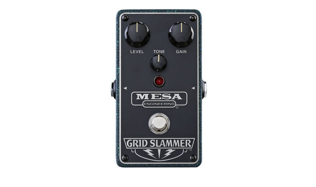 All of the new Mesa/Boogie overdrive pedals share the same sturdy metal chassis