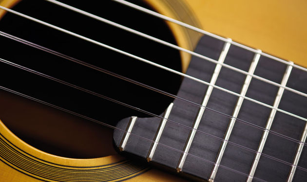 There are two partial frets near the sound hole, taking the total to 20