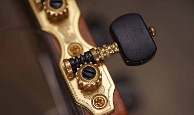 The German-made Rubner tuners exude quality in both appearance and function