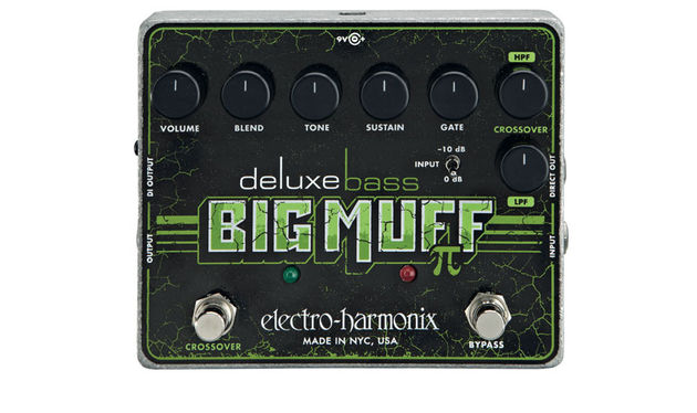 With a Pad switch plus a clean direct out and two effected outputs (DI and jack), this pedal has got it all