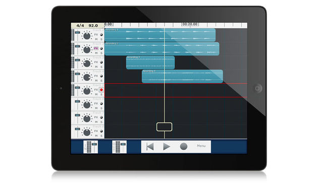 MultiTrack DAW offers playback of a full 24 stereo tracks with a sound quality of up to 24-bit, 96kHz