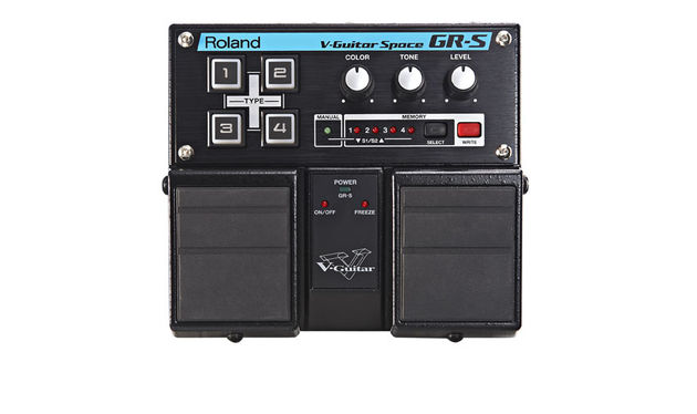 With a conventional guitar, the GR-S is basically a fancy chorus pedal, but use a divided pickup and it comes to life