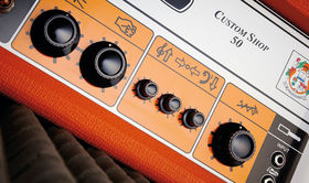 VIDEO: Orange CS50 Custom Shop 50 guitar amplifier demo