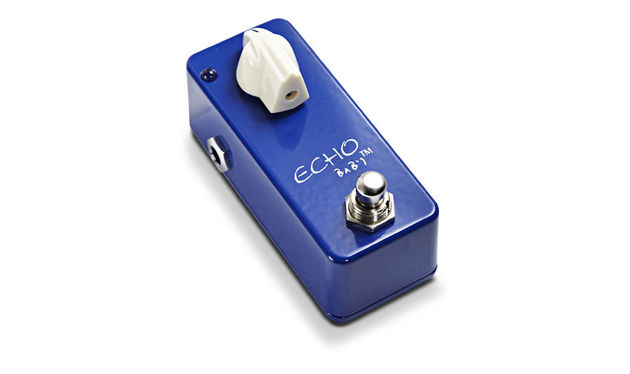 While it looks simple, there's as much control in this pedal as you'd get in an MXR Carbon Copy