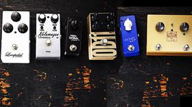 VIDEO: Lovepedal Babyface Tremolo, Echo Baby, Les Lius, Kalamazoo, OD11 & Eternity E6 demo