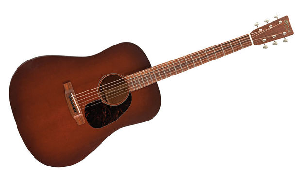 The main talking point on the D-17M is the dark-shaded Sitka spruce soundboard