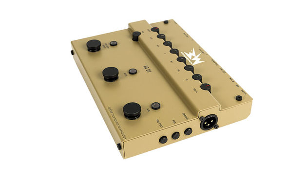 The RMI Acouswitch IQ DI is a high-end preamp and 'brain' for an acoustic pedalboard