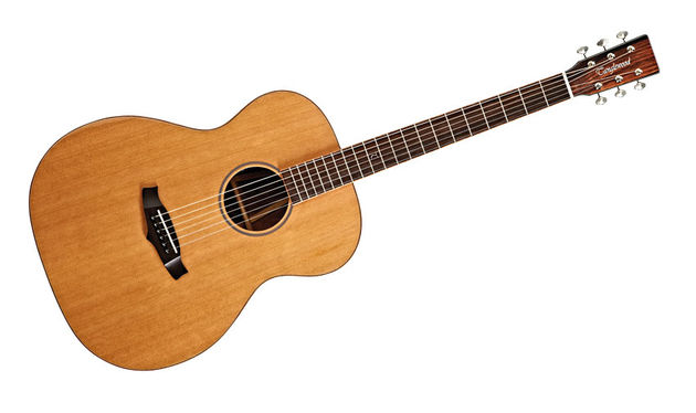 The Cedar top on the TWJF E is ideal for those fed-up with the high-end zing of modern spruce-topped guitars