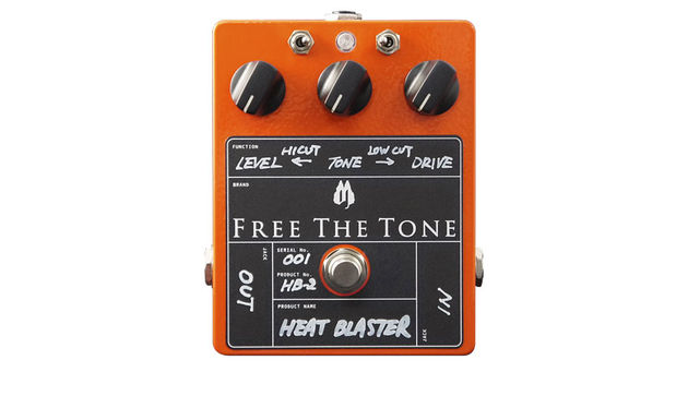 Yes, it's ludicrously expensive, but the Heat Blaster is certainly a unique distortion pedal