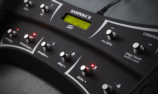 Peavey's Sanpera 2 foot-controller is essential if you want to unlock the full functionality of the Vypyr VIP, including the 30-second looper