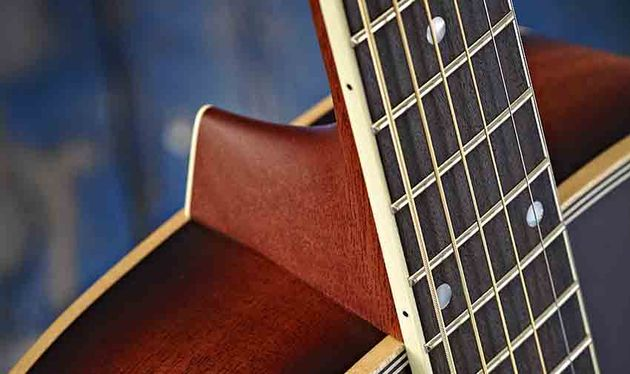 Jean Larrivée is a firm believer that 12-fret-to-the-body guitars sound better