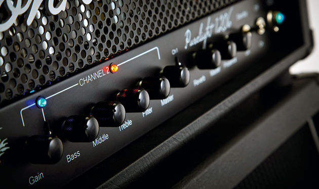 There are plenty of tones in the Purelight 1206 and the front panel makes it easy to dial them in