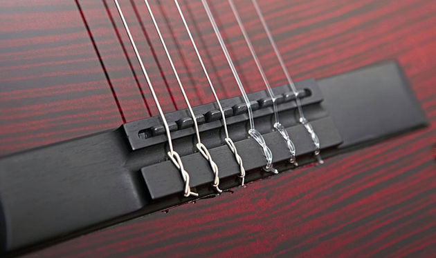The nylon-string NS-1 has a tie-block bridge but it's far from a standard classical