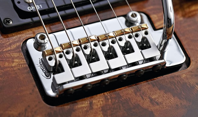 Synth Access is enabled by the hexaphonic pickups in the saddles