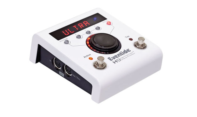The H9 contains 99 presets from a range of Eventide pedals and more are available to purchase