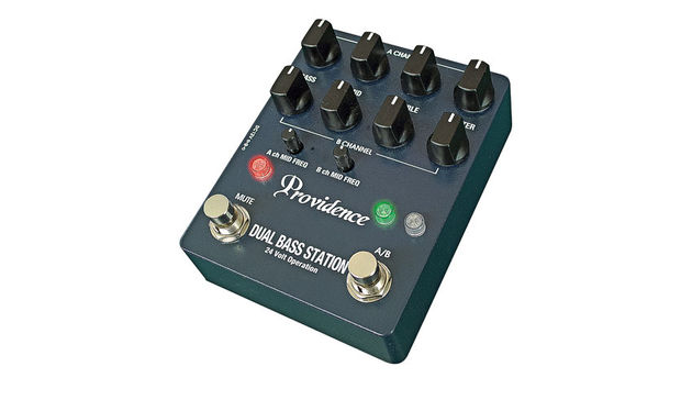 Changing basses and types of bass mid-gig just became a lot easier