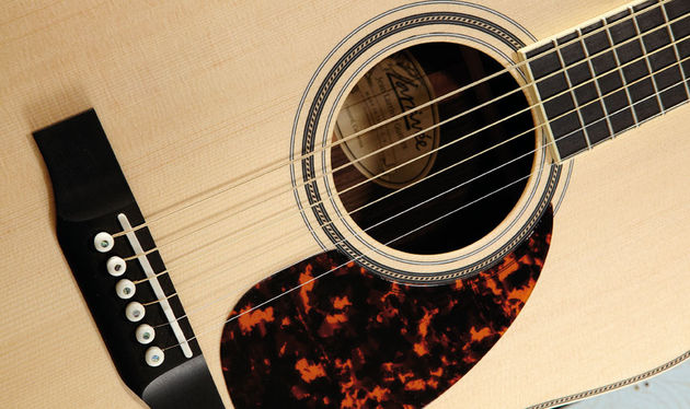The Scalloped Parabolic Hybrid bracing system has been developed over 40 years of guitar making