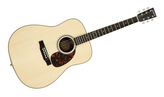 The guitar exhibits the beautifully clean and crisp craft that we associate with Larrivée