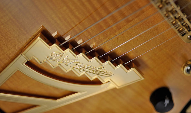 The Stairstep tailpiece was introduced on the original D'Angelicos in the late-1930s
