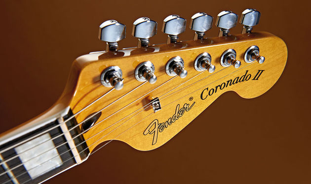 The headstock reminds us this is a Fender, after all
