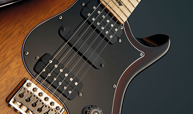 Based on PRS's 408 Bass humbuckers, the bridge pickup was specially voiced for Brent Mason