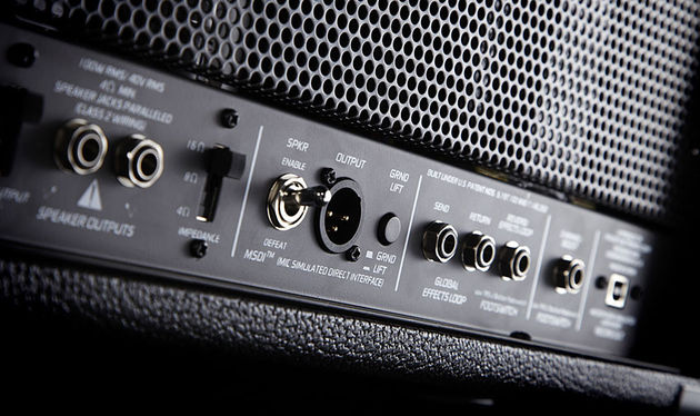 Peavey's clever MSDI output mimics the sound of a mic'd up speaker cabinet