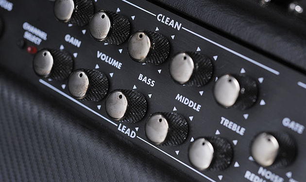 Fully independent preamp channels add to the Hellraiser's flexibility