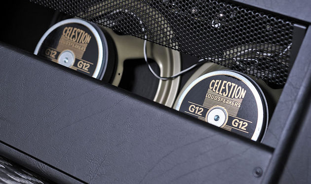 Two Celestion Vintage 30 loudspeakers provide the volume, with power to spare
